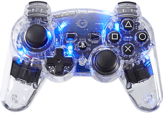BIGBEN Wireless PS3 Controller Clear Blue