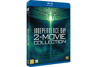 Independence Day 1-2 Science Fiction Blu-ray