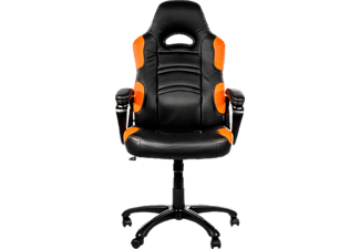 AROZZI Enzo Orange, Gamingstuhl, Schwarz/Orange