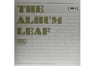 The Album Leaf - THERE IS A WIND - (Vinyl)