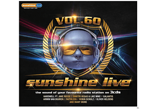 VARIOUS - Sunshine Live 60 - (CD)