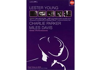Lester Young, Charlie Parker, Miles Davis - Great Performances (DVD)