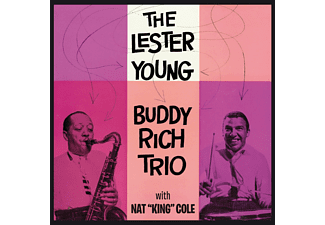 The Lester Young / Buddy Rich - With Nat King Cole (CD)