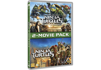 Teenage Mutant Ninja Turtles 1-2 Box Action DVD