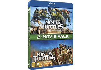 Teenage Mutant Ninja Turtles 1-2 Box Action Blu-ray