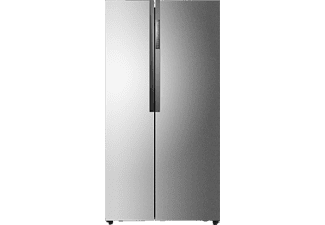 HAIER HRF-521DS6, Side-by-Side, A+, 435 kWh/Jahr, 1790 mm hoch, Silber