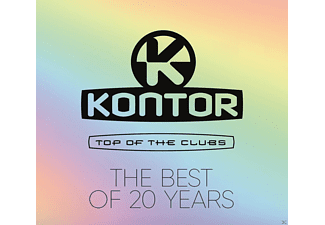 VARIOUS - Kontor Top Of The Clubs-The Best Of 20 Years - (CD)