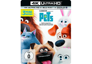 Pets - (4K Ultra HD Blu-ray + Blu-ray)