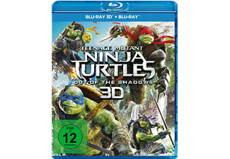 Teenage Mutant Ninja Turtles - out of the Shadows [3D Blu-ray (+2D)]