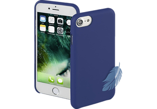 HAMA Silk, Apple, Backcover, iPhone 7, Kunststoff, Blau
