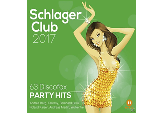 VARIOUS - Schlager Club 2017-63 Discofox Party Hits - (CD)