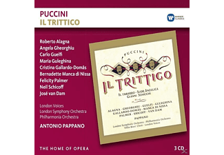 Roberto Alagna, Angela Gheorghiu, Carlo Guelfi, Maria Guleghina, Cristina Gallardo-Domâs, Bernadette Manca di Nissa, Felicity Palmer, Neil Schicoff, José van Dam, London Voices, London Symphony Orchestra, Philharmonia Orchestra, Tiffin's Boys' Choir - Il Trittico - (CD)