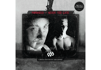 Paranoid - Never Too Late - (CD)