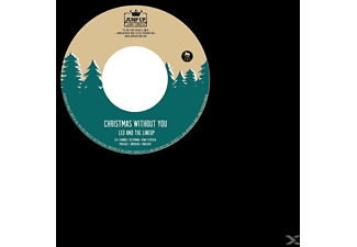 Leo & The Lineup, Napoleon Solo - Christmas Without You/Merry X-Mas Everybody - (Vinyl)