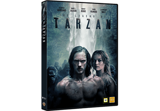 The legend of Tarzan Äventyr DVD