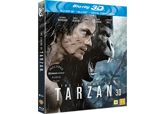 The legend of Tarzan Äventyr 3D BD & 2D BD, Blu-Ray