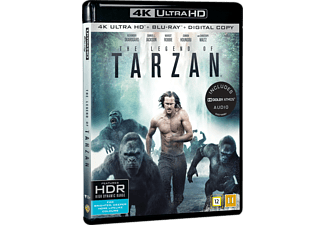 The legend of Tarzan Äventyr 4K Ultra HD Blu-ray + Blu-ray