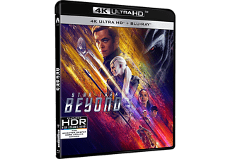 Star Trek: Beyond Science Fiction 4K Ultra HD Blu-ray + Blu-ray