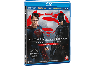 Batman V Superman: Dawn of Justice Ultimate Edition Action Blu-ray