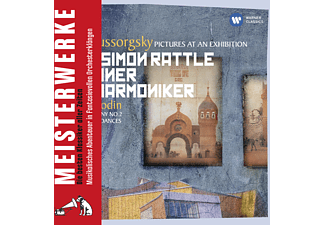 Simon Rattle - Mussorgsky: Pictures At An Exhibition, Borodin, Symphony N [CD]