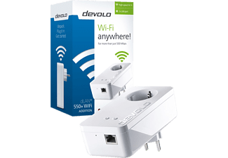 DEVOLO dLAN 550+ WiFi Powerline - (9832)