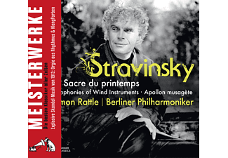 Simon Rattle, Berliner Philharmoniker - Le Sacre Du Printemps/Apollon [CD]
