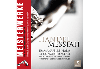 Le Concert D`astrée - Messiah (Der Messias) [CD]