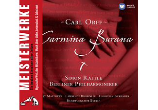 Rattle/Matthews/Brownlee/BP/+ - Carmina Burana [CD]