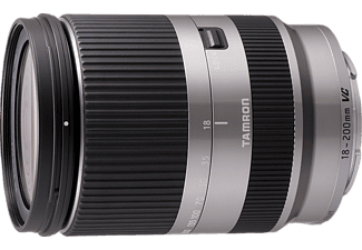 TAMRON AF Di III VC 18 mm-200 mm f/3.5-6.3 VC, Reisezoom, System: Canon, Silber