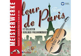 Die 12 Cellisten Der Berliner Philharmoniker - Fleur De Paris - (CD)