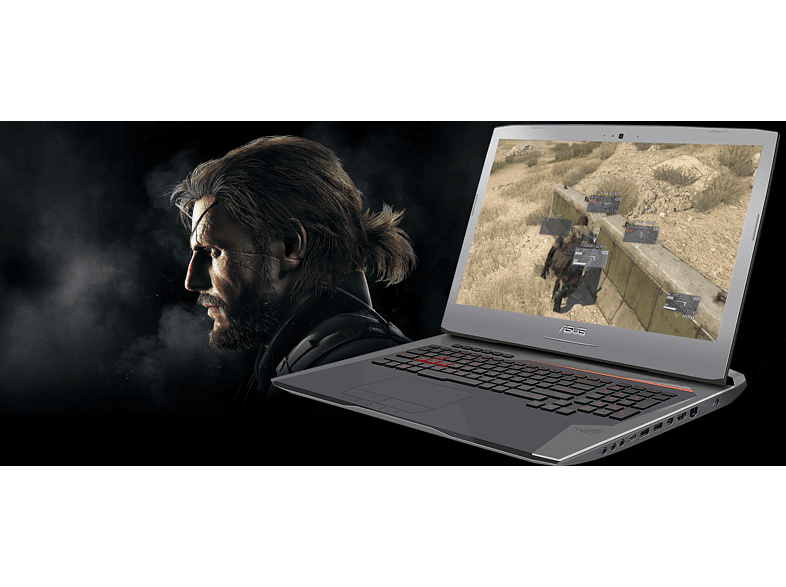 "ASUS ROG G752VY-GB463T notebook (17,3"" FullHD/Core i7/16GB/128GB SSD+1TB HDD/GTX 980M 8GB VGA/Windows 10)"