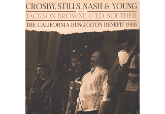 Crosby, Stills, Nash & Young - The California Hungerton Benefit 1988 [Vinyl]