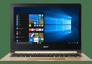 ACER Swift 7 (SF713-51-M2SB), Ultrathin-Notebook mit 13.3 Zoll Display, Core™ i5 Prozessor, 8 GB RAM, 256 GB SSD, HD-Grafik 615, Midnight Black/Champagne