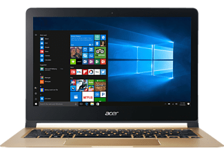 ACER Swift 7 (SF713-51-M2SB), Ultrathin-Notebook mit 13.3 Zoll Display, Core™ i5 Prozessor, 8 GB RAM, 256 GB SSD, HD-Grafik 615, Midnight Black/Champagne