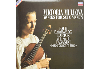 Viktoria Mullova - Works For Solo Violin - (Vinyl)