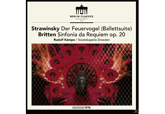 Rudolf & Staatskapelle Dresden Kempe - Established 1947,Strawinski & Britten (Remaster) [Vinyl]