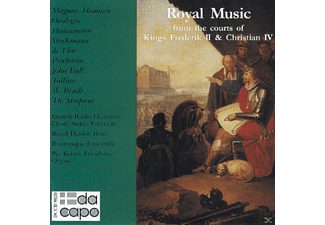 VARIOUS, Parkman, Frandsen - Royal Music From The Courts of Kings Frederik II - (CD)