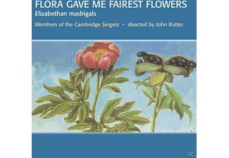 John Milford Rutter, Rutter,John/Cambridge Singers,The/+ - Flora Gave Me Fairest Flowers - (CD)
