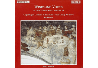 Bo Holten, Ars Nova Ensemble, Copenhagen Cornetts+Sackbuts - Winds And Voices - (CD)