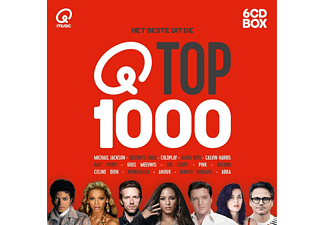 VARIOUS - QMUSIC TOP 1000 (2016) | CD