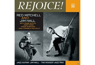 RED MITCHELL/JIM HALL - Rejoice/Good Friday Blues/Jazz Guitar - (CD)