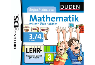 Mathematik 3+4 - Nintendo DS