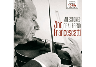 Various Composers, Zino Francescatti, VARIOUS - Zino Francescatti - (CD)