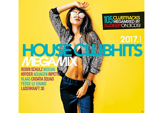 VARIOUS - House Clubhits Megamix 2017.1 - (CD)