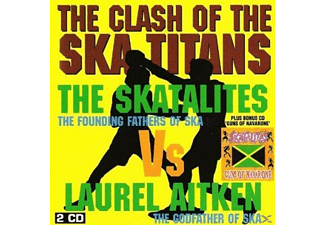 The Skatalites Vs Laurel Aitken - Clash Of The Ska Titans - (CD)