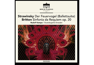 Staatskapelle Dresden - Established 1947,Strawinski & Britten (Remaster) - (CD)