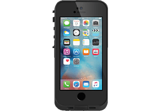 LIFEPROOF FRĒ 77-53685, Full Cover, Apple, iPhone 5, iPhone 5s, iPhone SE, Schwarz