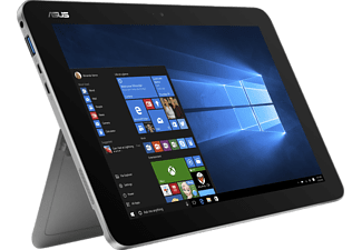 ASUS T102HA-GR022T, Transformer Book mit 10.1 Zoll, 128 GB Speicher, 4 GB RAM, Atom™ x5 Prozessor, Windows® 10 Home (64 Bit), Quartz Grey