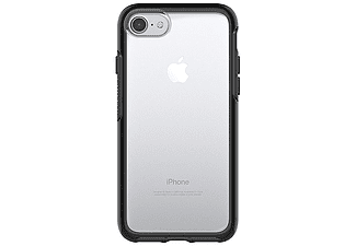 OTTERBOX 77-53952 Symmetry, Backcover, Apple, iPhone 7, Transparent/Schwarz