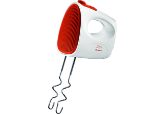 ARIETE 00C154100AR0 Mixy Easy, Handmixer, 250 Watt, Weiß/Orange